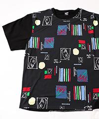 デジタルプリントアシメTシャツ