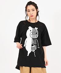蓄光熊体模型BIG Tシャツ